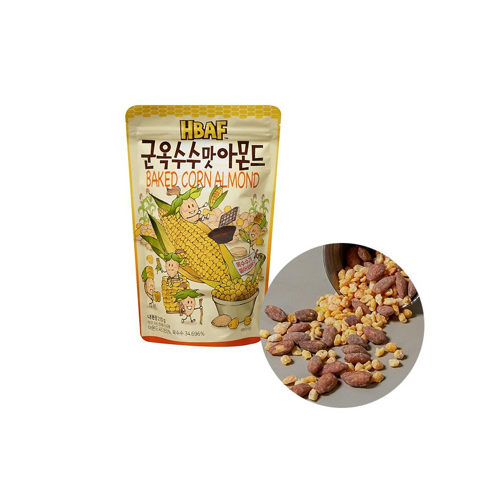 HAETAE HBAF HBAF Gebackene Mandel mit Maisgeschmack 210g 1