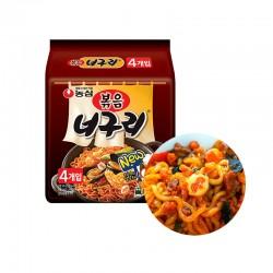 OTTOGI NONG SHIM (내수용) 농심 너구리볶음  멀티팩 (137g x 4) (유통기한: 02/09/2021) 1