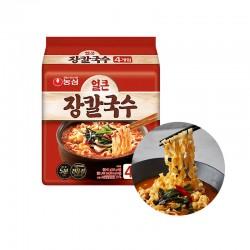 OTTOGI NONG SHIM (내수용) 농심 장칼국수 내수용 멀티팩 (103g x 4) (유통기한: 14/09/2021) 1