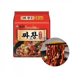 OTTOGI NONG SHIM (내수용) 농심 짜왕 매운맛 멀티팩 (140g x 4) (유통기한: 24/08/2021) 1