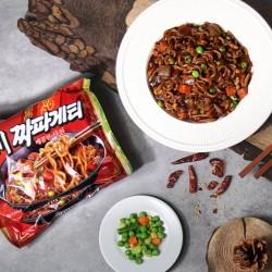 OTTOGI NONG SHIM (Domestic)NONGSHIM Ramen Sacheon Chapaghettii (137g x 4) (BBD: 24/08/2021) 1