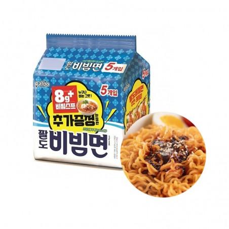PALDO  (Domestic) PALDO Instant Noodle Bibimmen Multi(130gx5)(BBD: 01/09/2021) 1