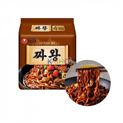 NONG SHIM NONG SHIM (Domestic)NONGSHIM Instant Noodle Jjawang Multi(134gx4)(BBD:01/09/2021) 1