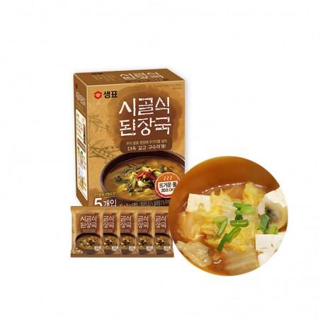 SEMPIO SEMPIO Bohnenpaste Suppe in Block, authentisch (8g x 5) 1