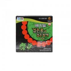 LOTTE  베지밀 검은콩과 검은 참깨 두유 (190ml x 16) 1