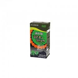 LOTTE  베지밀 검은콩과 검은 참깨 두유 190ml 1