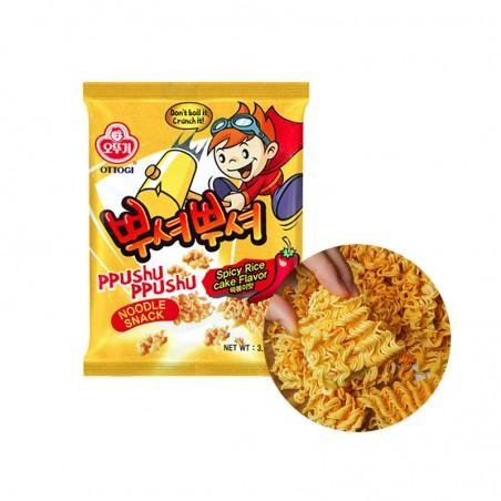 OTTOGI OTTOGI OTTOGI Ramen Cracker PpushuPpushu Tteokbokki Flavor 90g 1