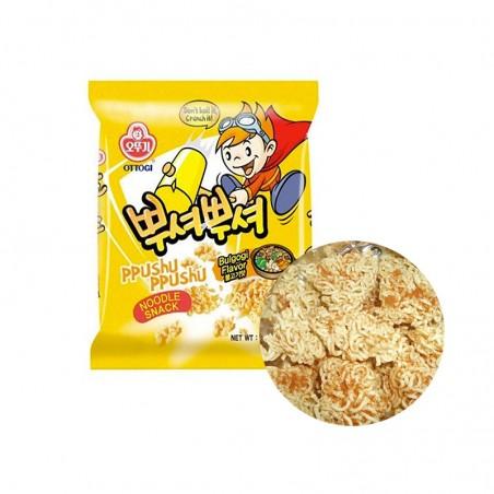 OTTOGI OTTOGI OTTOGI Ramen Cracker Ppushuppushu Bulgogi 90g 1