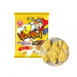 OTTOGI OTTOGI OTTOGI Ramen Cracker Ppushuppushu BBQ 90g 1