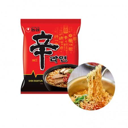 NONG SHIM NONG SHIM (Domestic) NONGSHIM Instant Noodle Shin Ramen 120g (BBD: 08.09.2021) 1