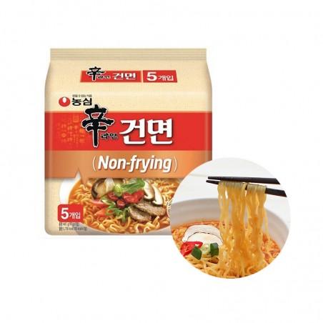 OTTOGI NONG SHIM (Domestic)NONGSHIM Ramen SHIN, nicht braten-scharf Multi 485g (97g x 5)(MHD : 01/09/2021) 1