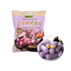 CHILGAB (냉동) 칠갑 고구마 떡볶이 500g 1