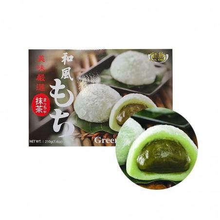 Royal Family Rice cake, green tea flavor (Mochi) 210g 1