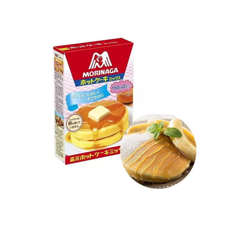 MORINAGA MORINAGA MORINAGA Hot Cake Mix 300g (BBD : 01/2023) 1