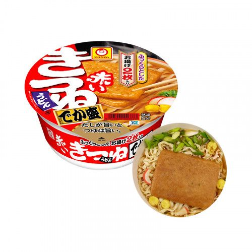 MARUCHAN MARUCHAN Cup Noodles Kitsune Udon with Fried Tofu Big Cup 113g 1