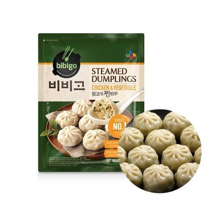 CJ BIBIGO CJ BIBIGO (FR) CJ BIBIGO Steamed Dumplings Chicken & Vegetable 560g 1