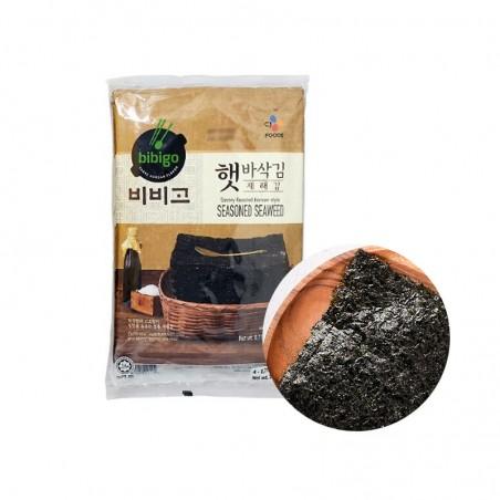 KWANGCHEON CJ BIBIGO CJ BIBIGO Crispy roasted seaweed (sesame) (20g x 4) 1