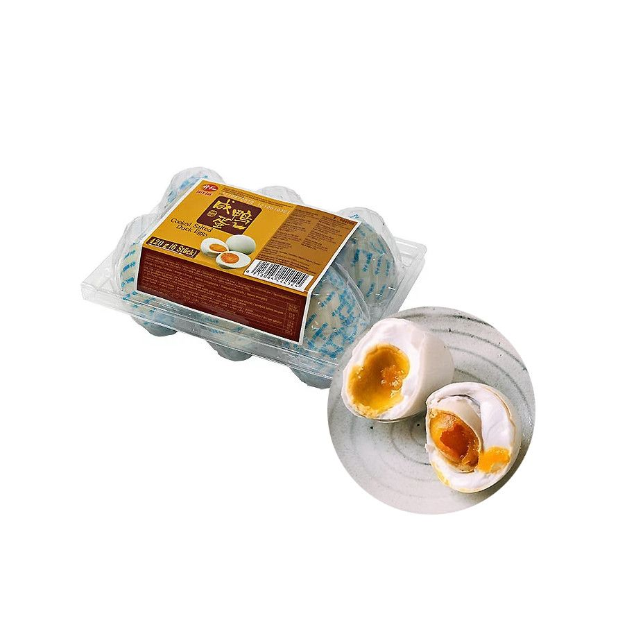 SUBIN  Duck eggs boiled, salted 420g (6pcs) (BBD : 08/04/2022) 1