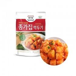 JONGGA (Kühl) JONGGA Rettich Kimchi in Würfel 500g (MHD: 12/11/2021) 1