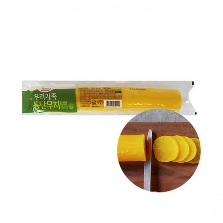 JONGGA (냉장) 종가집 통단무지 550g (유통기한: 09/01/2022) 1