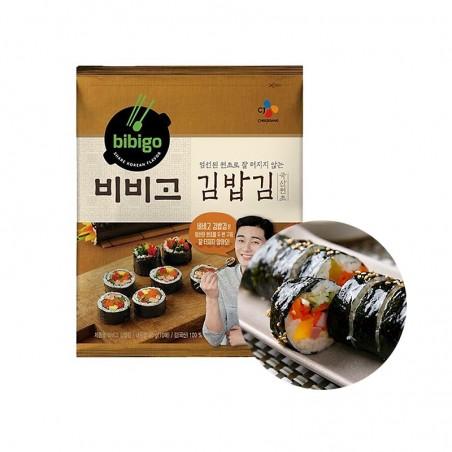 KWANGCHEON CJ BEKSUL Bibigo Roasted Seaweed laver Sushi nori (10sht) 20g(BBD : 26/04/2022) 1