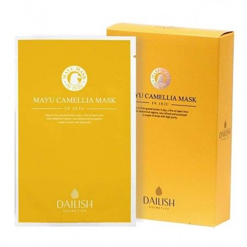 DAILISH  DAILISH Mayu Camellia Mask in Jeju 1 piece 22ml 1