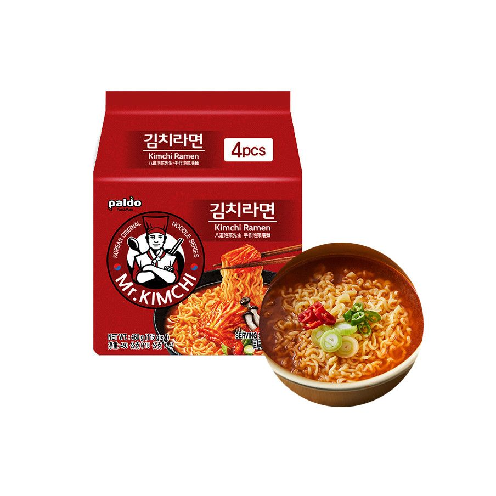 PALDO Ramen Mr. Kimchi Multi 460g (115g x 4) 1