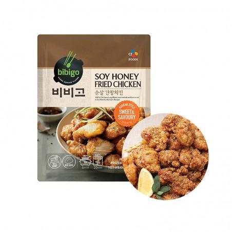 (FR) CJ BIBIGO Fried Chicken with Soy Sauce und Honey 350g 1