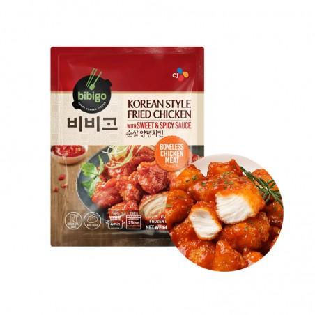 CJ BIBIGO (FR) CJ BIBIGO Fried Chicken with sweet & spicy Sauce 350g 1