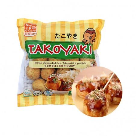 SEASTORY (TK) SEASTORY Octopusball Takoyaki 400g (MHD : 20/04/2023) 1