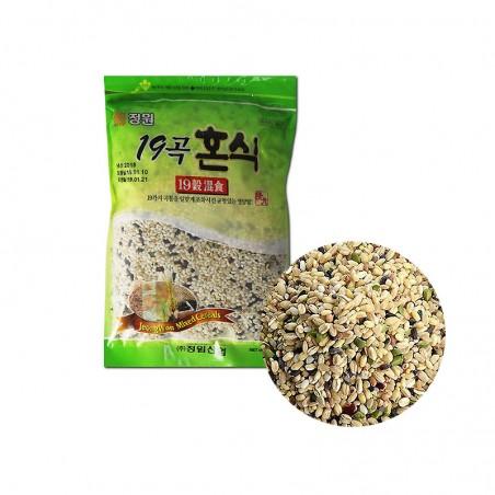 JUNGWON JONGWON Gemischtes Getreide mit 19 Sorten 800g 1
