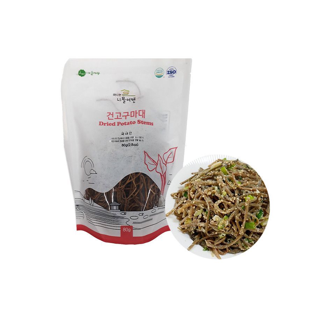 OTTOGI  Dried sweet potato stems 80g 1