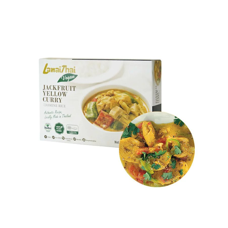 (TK) LAMAI Fertiges Gericht Thai Gelbecurry m.Jachfruit 370g 1