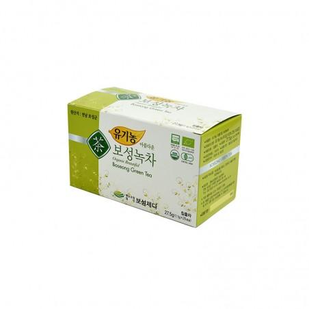 SEMPIO  유기농 보성 녹차 27.5g (1,1g x 25티백) 1