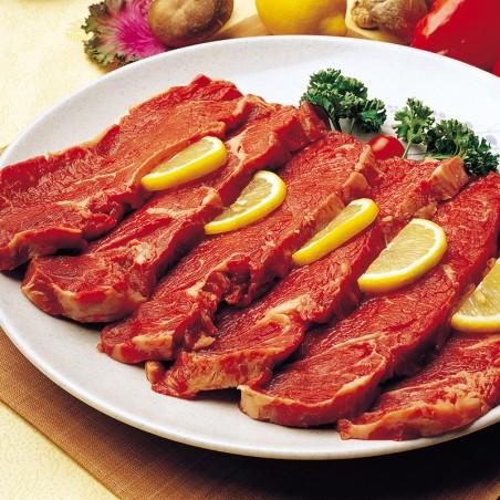 (FR) KSHOP Fleisch Rindfleisch Roastbeef in Scheiben 채끝살 ca.190~270g 1