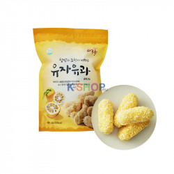 MAMMOS  Citron Rice Snack 80g 1