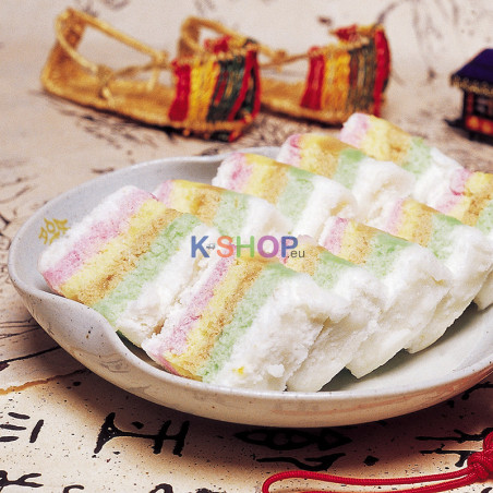 (TK) YUCHANG Regenbogenreiskuchen (무지개 떡) 500g 1