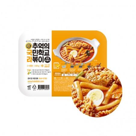 (TK) Koreanischer Reiskuchen mit Ramen (Tteokbokki) 520 g (MHD: 01/04/2022) 1