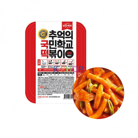 (FR) NangMan Brothers Korean Toppokki Spicy 600g 1