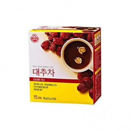 OTTOGI OTTOGI Jujube Tea Powder (red dates)195g (13g x 15ea) 1