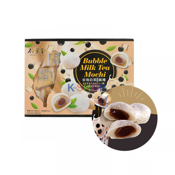 Bamboo House Bubble Milk Tea Mochi 240g 1