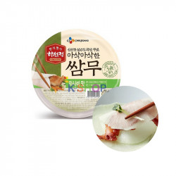 (냉장) CJ 하선정 쌈무 와사비맛 320g 1