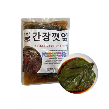 HANSUNG (TK) (K-FOOD) Sesamblätter gewürzt mit Sojasauce1kg 1