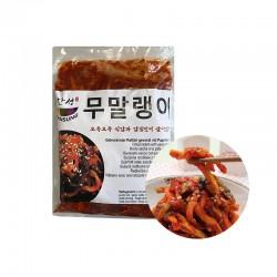 HANSUNG (TK) (K-FOOD) getrockneter Rettich gewürzt mit Paprikapaste 1kg 1