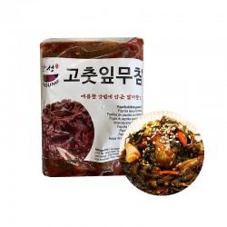 HANSUNG (TK) (K-FOOD) gewürzte Paprikablätter 1kg 1