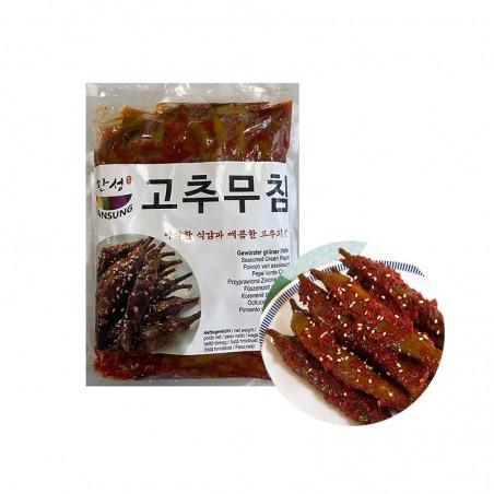 HANSUNG (TK) (K-FOOD) Paprika gewürzt mit Paprikapaste1kg 1