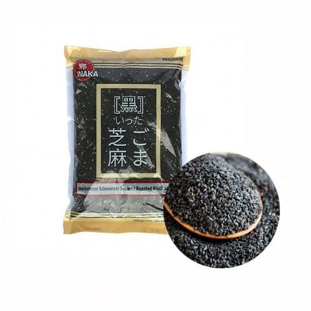 INAKA Sesamkerne, geröstet, schwarz  1kg 1