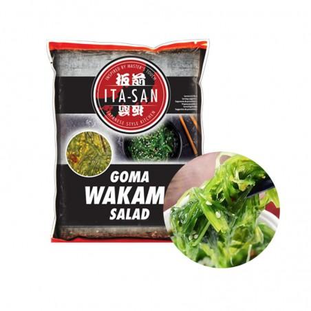 (TK) ITA-SAN Gewürzte Seetangssalat (Goma Wakame) 1kg 1