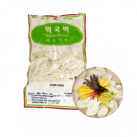 (TK) YUCHANG Reiskuchen geschnitten Tteokguk-Tteok 1kg 1