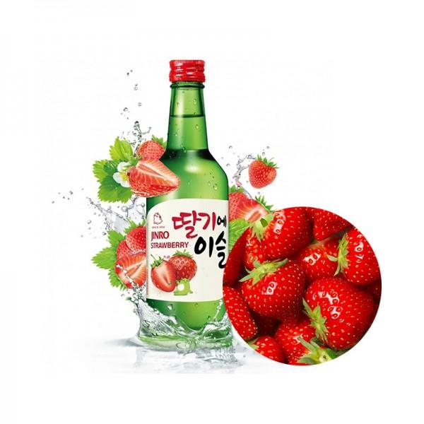HITE JINRO JINRO Soju Chamisul Erdbeer (13% Alk.) 360ml 1